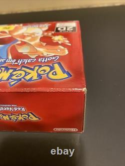 Sealed Pokémon Red Nintendo 2DS Anniversary Edition Brand New Game Boy Charizard