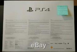 Sealed Sony PlayStation 4 20th Anniversary Edition Console and 20thA PS4 Headset