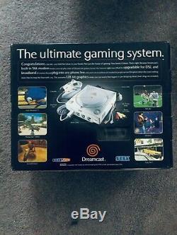 Sega Dreamcast White Console Factory Sealed! BRAND NEW