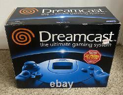 Sega Dreamcast White System Console Original NIB Sealed GREAT