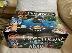 Sega Dreamcast White System Console Original NIB Sealed in box never opened