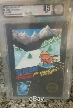 Slalom Nintendo Entertainment System NES VGA 85 Brand New Sealed Black Box HT