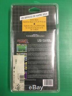 Sonic 2 Sega Megadrive Blister Rigide Neuf New Sealed No Nintendo Master System