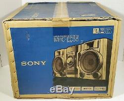 Sony Hi-Fi Stereo Component System MHC-EC55 BRAND NEW CIB Complete Remote SEALED