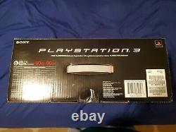 Sony PS3 PlayStation 3 80GB Console Bundle, Piano Black, New & Sealed, Mint