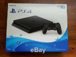 Sony PS4 1TB SLIM PlayStation 4 Black Gaming Console (SEALED NEW)