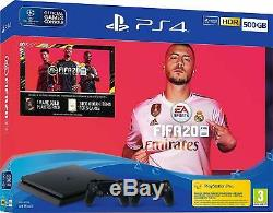 Sony PS4 500GB Console, FIFA 20 & 2 Controller Bundle NEW & SEALED