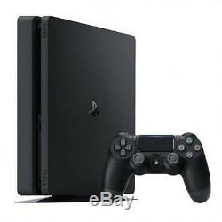 Sony PS4 500GB Slim Jet Black Console Play-station HDR Brand New Sealed