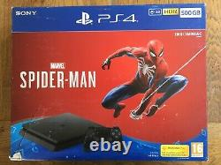 Sony PS4 500 GB Console Spider Man Bundle (open box) UK Contents Sealed