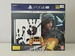 Sony PS4 Pro 1TB Console Death Stranding Limited Edition Bundle NEW SEALED