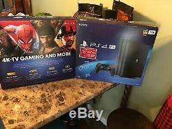 Sony PS4 Pro CUH-7215B 1TB (Free Game Included Spider-Man), NEWithSEALED