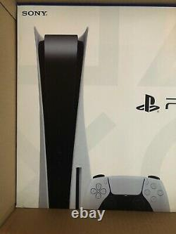 Sony PS5 Blu-Ray Edition Console White DISC EDITION BRAND NEW SEALED SHIPS NOW