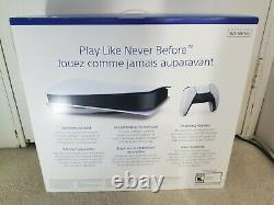 Sony PS5 Disc Edition Console White In Hand Sealed Fast Shipping