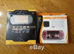 Sony PSP 2000 2001 PSP-2001 Black Handheld System New In Box Sealed Fast Ship