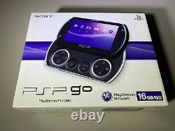 Sony PSP Go 16GB Black Handheld Console New Factory Sealed