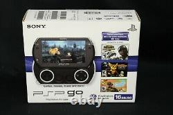 Sony PSP Go 16GB Piano Black US Version PSP-N1001PM Brand New Factory Sealed