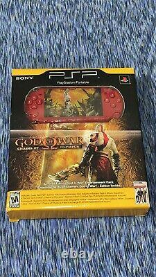 Sony PSP God of War Chains Of Olympus Limited Edition System FACTORY SEALED NEW