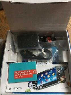 Sony PS Vita 3G / WiFi Console PCH-1103 (light wear open box) Contents Sealed