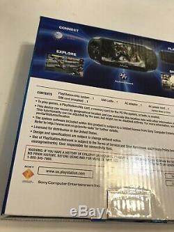 Sony PS Vita PCH-1101 Brand New Sealed PlayStation Vita