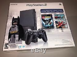 Sony PlayStation 2 Ps2 (SCPH-9001) Console Batman Brand New Factory Sealed