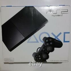 Sony PlayStation 2 Slim Launch Edition Charcoal Black (SCPH-90001) NEW SEALED