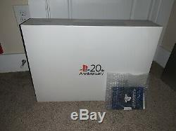 Sony PlayStation 4 20th Anniversary Edition 500GB Steel Grey Console SEALED PS4