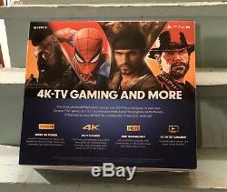 Sony PlayStation 4 PS4 Pro 1TB Console 4K CUH-7215B Jet Black Brand New Sealed