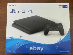 Sony PlayStation 4 Slim 1TB Console Jet Black Brand new, factory sealed
