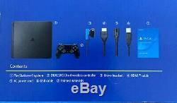 Sony PlayStation 4 Slim 1TB Jet Black Console BRAND NEW STILL SEALED