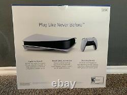 Sony PlayStation 5 Console Disc Version (PS5) Brand New Sealed Free Ship