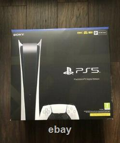 Sony PlayStation 5 Digital Edition PS5 Console NEW & SEALED Fast Free Delivery