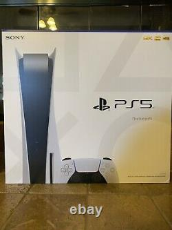 Sony PlayStation 5 Disc Edition Console PS5 New & Sealed SHIPS SAME DAY! FAST