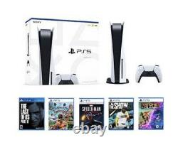 Sony PlayStation 5 PS5 Console Disc Version SEALED Bundle Games READY TO SHIP