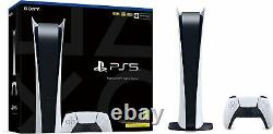 Sony PlayStation 5 PS5 Digital Console Brand New & Sealed Free Next Day Delivery