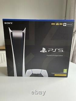 Sony PlayStation 5 PS5 Digital Edition Console Brand New And Sealed In Hand
