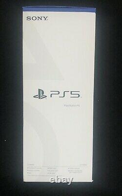 Sony PlayStation 5 PS5 Standard Console Disc Version Factory Sealed