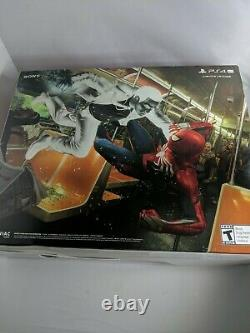 Sony PlayStation PS4 Pro 1TB Limited Edition Spider-Man Console Bundle Sealed