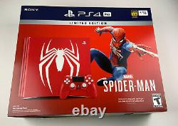 Sony PlayStation PS4 Pro 1TB Limited Edition Spider-Man Console (New Sealed)