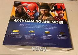 Sony PlayStation PS4 Pro Gaming Console 1TB 4K CUH-7215B Jet Black Sealed
