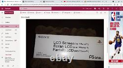 Sony Playstation 1 Psone Ps1 5 inch LCD-Screen! SCPH-131 New Factory Sealed