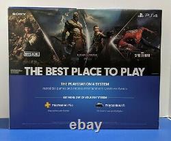 Sony Playstation 4 PS4 Slim 1TB Gaming Console Black CUH-2215B Brand New Sealed