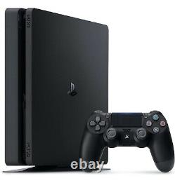 Sony Playstation 4 PS4 Slim 1TB Gaming Console Black CUH-2215B New Sealed
