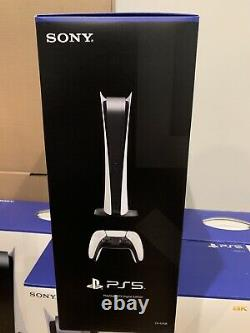 Sony Playstation 5 Console Digital Edition PS5 BRAND NEW SEALED SHIPPED TODAY
