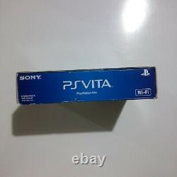Sony Playstation PS Vita PCH-1001 ZA01 Crystal Black OLED WIFI New SEALED