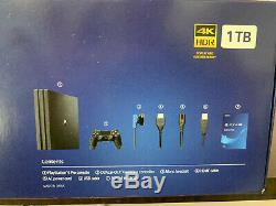 Sony Ps4 Pro Playstation 4 Pro 1tb Console Brand New Sealed With Free Shipping