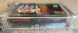 Super Mario Bros 1 (Nintendo Entertainment System NES) New Sealed Wata 9.6 A