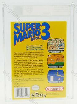 Super Mario Bros. 3 Nintendo Entertainment System NES 1990 NEW SEALED VGA 85+