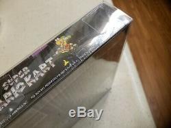 Super Mario Kart Super Nintendo Entertainment System 1992 snes brand new sealed