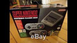 Super Nintendo Entertainment System SNES Mini Classic Edition (EURO, NEW, SEALED)