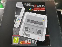 Super Nintendo SNES Edition Console New Nintendo 3DS XL Brand New & Sealed